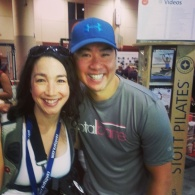 My second favorite instructor of the conference, Merrithew Health & Fitness' Wayne Seeto!